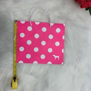3 small Victoria's Secret PINK shopping bags